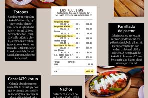Moje ��tenka: Chut� a barvy mexick� kuchyn� v restauraci Las Adelitas