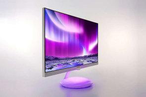 Test: Designový monitor Philips Moda má ve stojanu barevnou lampičku