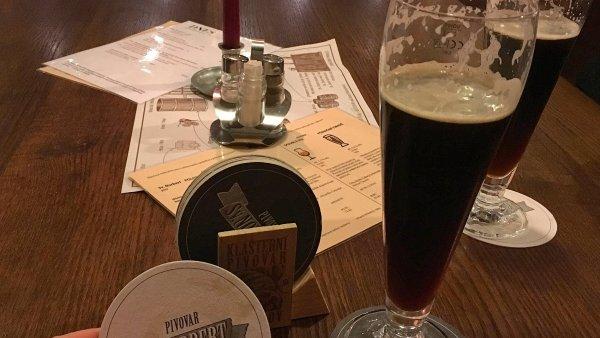 Pivo sv. Norbert v Klášterním pivovaru Strahov