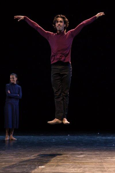 Snímek ze zkoušek inscenace Sólo pro nás dva.