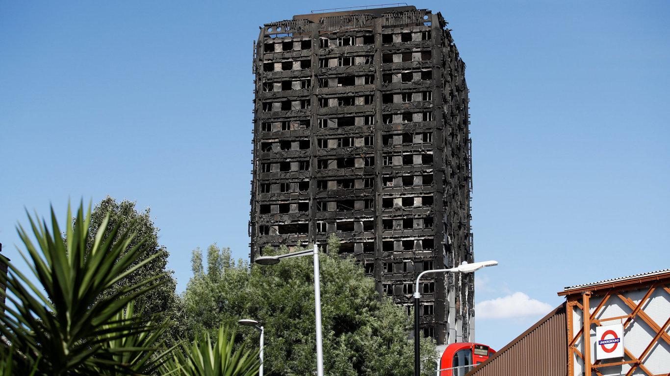 londýn požár