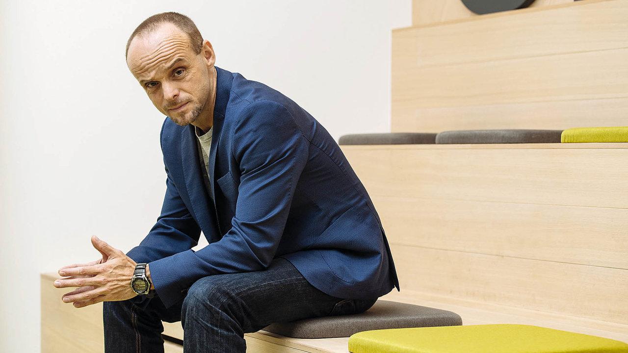 Psycholog Daniel Štrobl