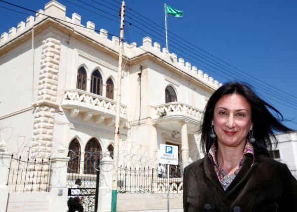 Zavražděná maltská novinářka Daphne Caruana Galizia