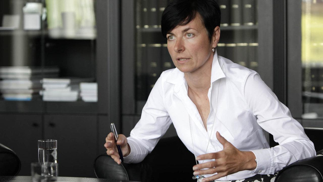 Státní zástupkyně Lenka Bradáčová.