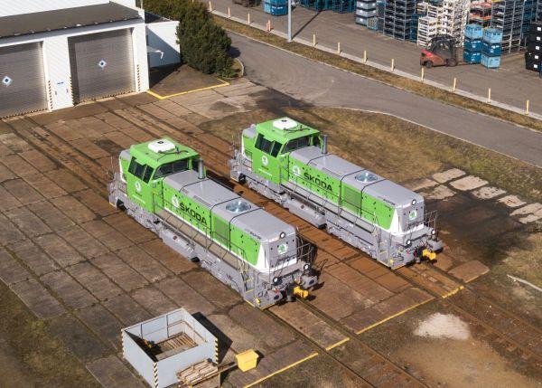Škoda Auto si pořídila lokomotivy s plným servisem