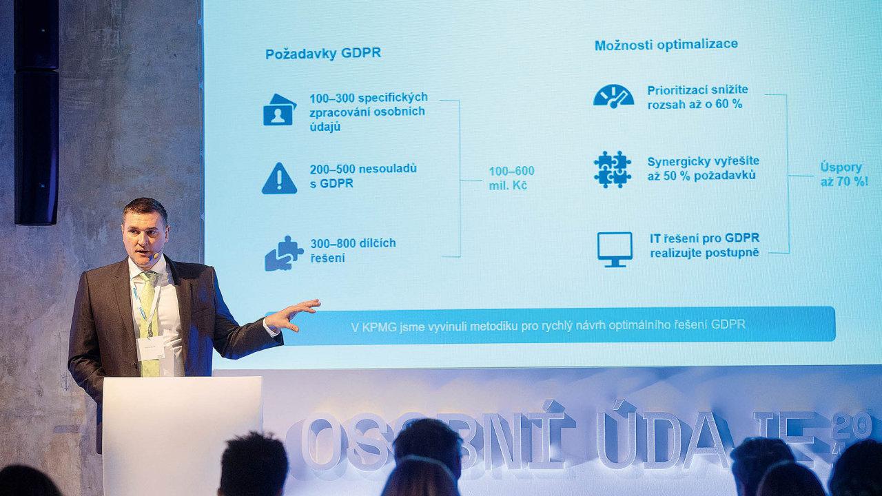 Na konferenci Osobní údaje 2018, která se konala 8. března v pražském SmetanaQ, vystoupili Martin Hladík z KPMG...