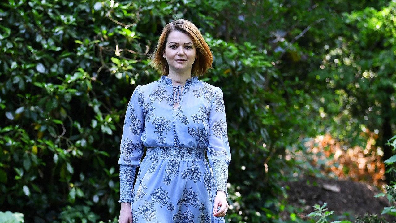 Julija Skripalová, třiatřicetiletá dcera dvojitého agenta Sergeje Skripala.