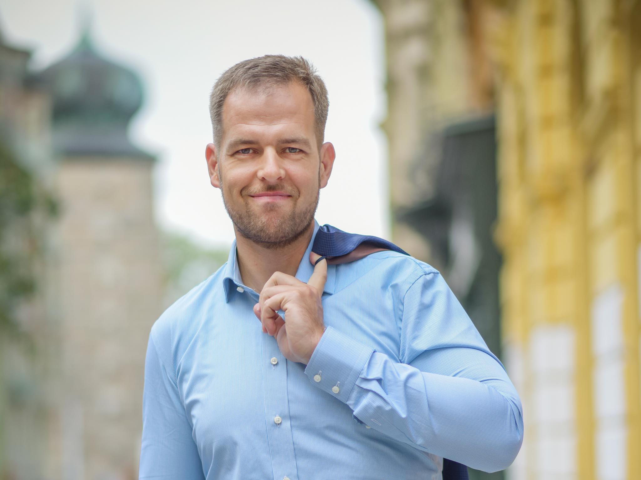Ivo Hykyš, head of mobility services, Siemens ČR