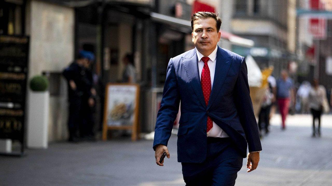 Energickému politikovi Michailu Saakašvilimu, který nyní přebývá v Nizozemsku, svitla šance nanávrat doGruzie.