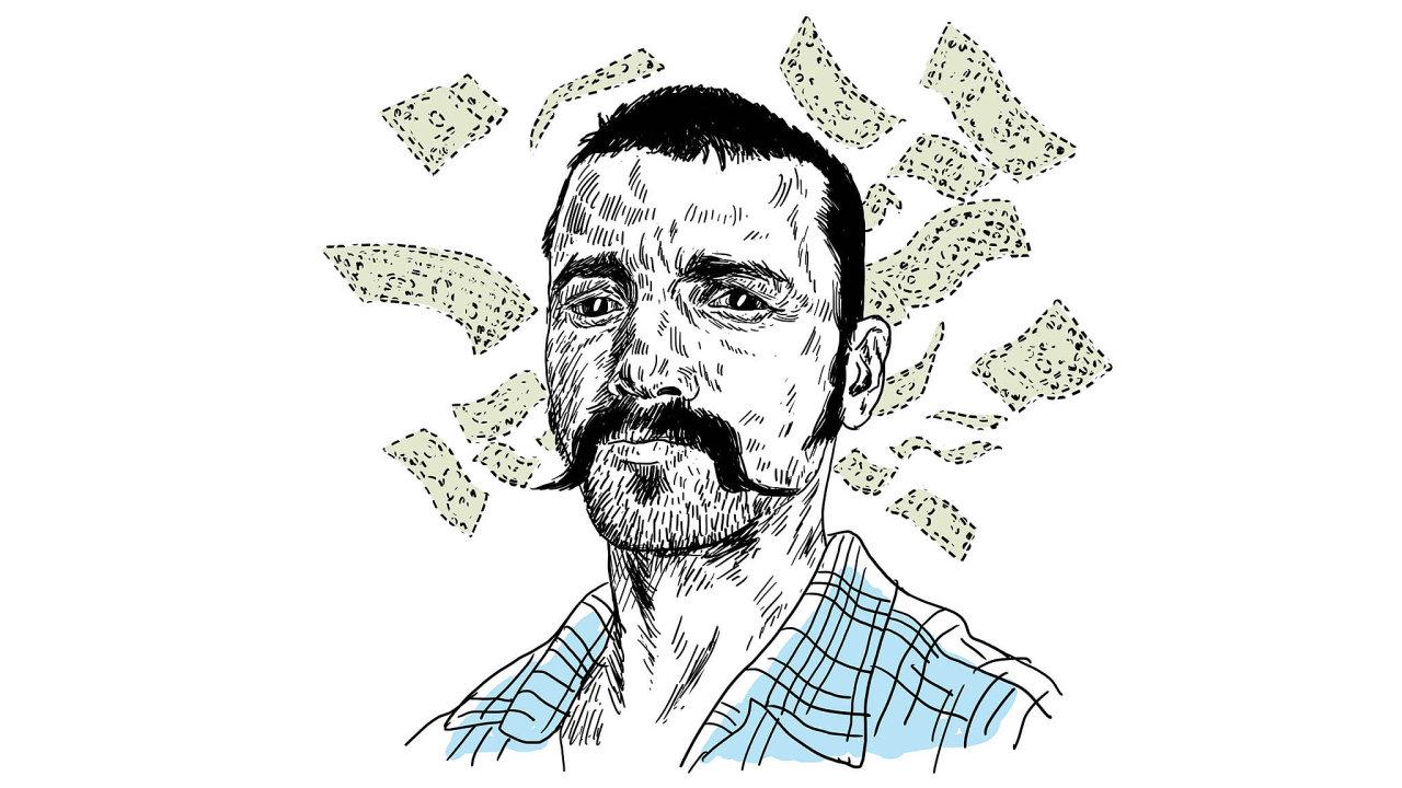 Peter Adeney alias Mr. Money Mustache se proslavil texty o finanční nezávislosti. Píše návody pro ty, kdo neradi za cokoliv utrácejí.