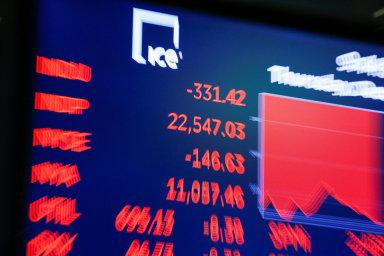 Dow Jonesův index zažíval v roce 2018 černé dny i historické rekordy - Ilustrační foto.