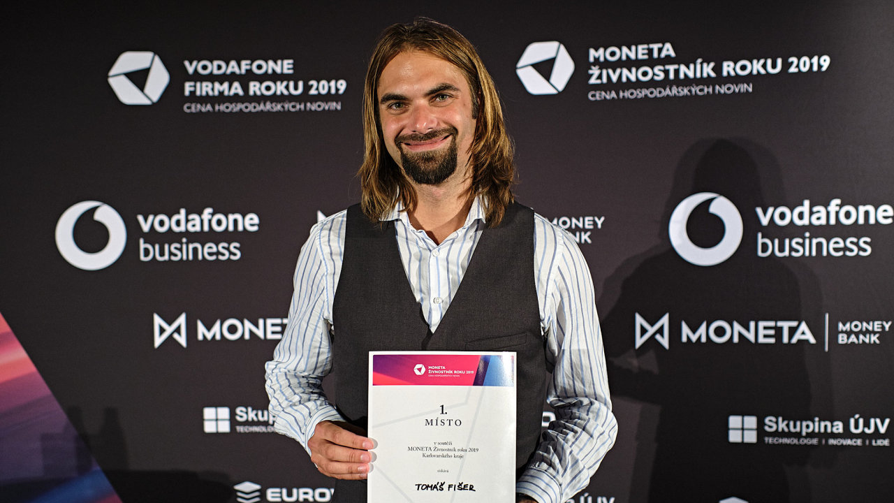 Moneta živnostník roku Tomáš Fišer