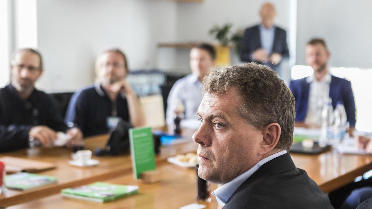 Viceprezident pro výrobu Tevy ve východní Evropě Jaroslav Chylík.