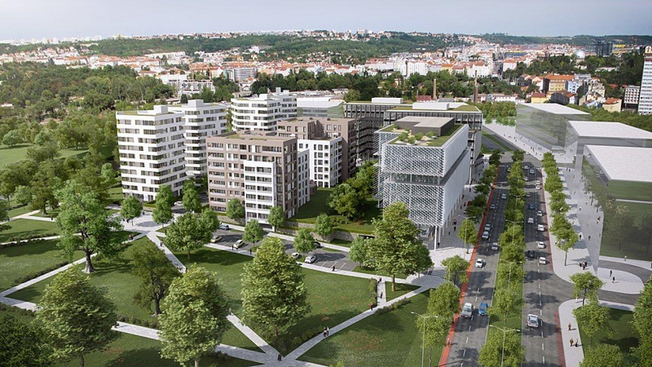 Prodloužení Urxovy ulice podle Boháče umožní v budoucnu postavit nový most mezi Karlínem a Holešovicemi.