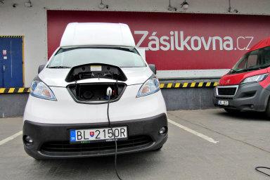 Elektrická dodávka Nissan Voltia Maxi (ilustrační foto)