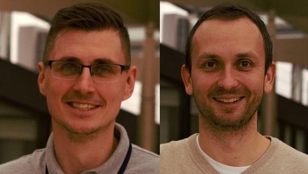Jan Blaško, Content Tribe Technology Leader; Ondřej Walter, Content Tribe Product Leader v Heureka Group