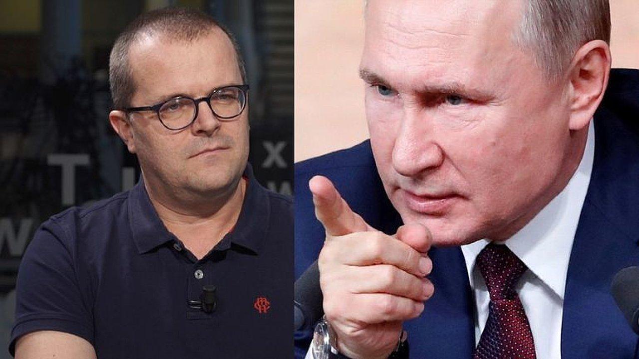 Pazderka: Putin chce přežít konec svého prezidentství, rozdávat karty a neztratit moc