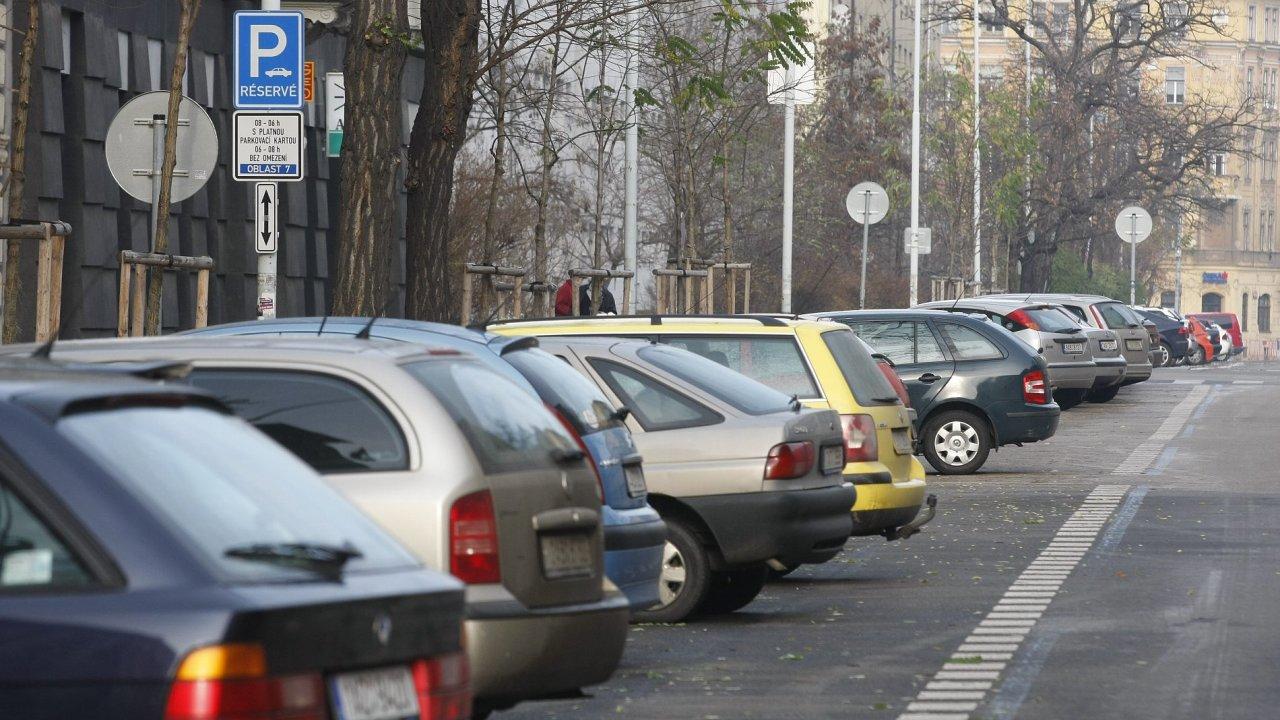 Parkování, ilustrační foto