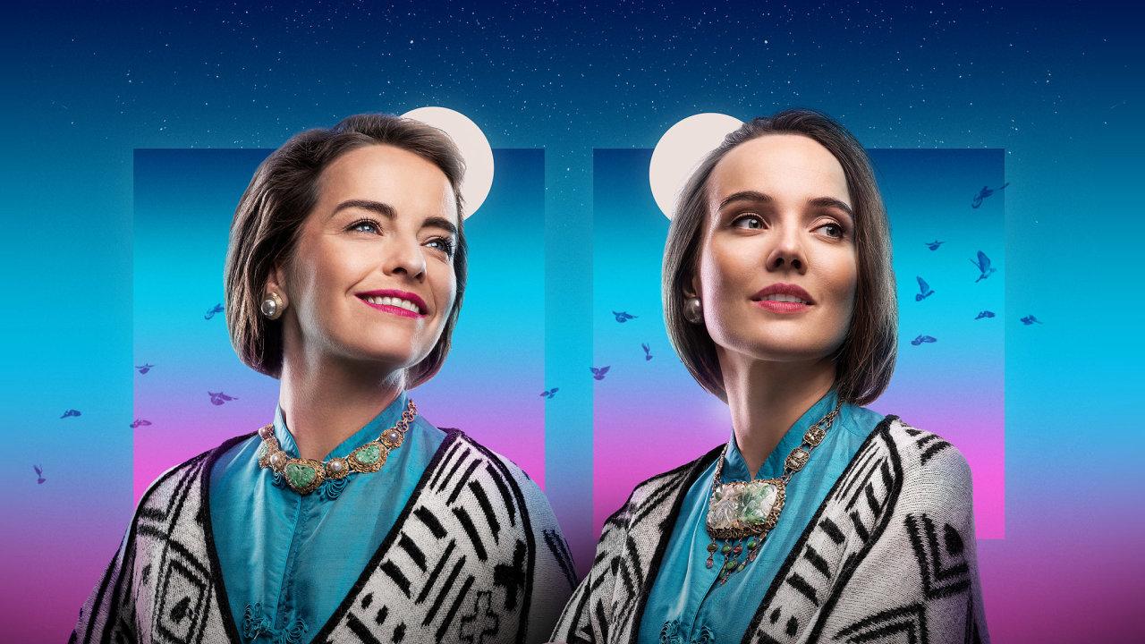 Pavla Beretová (vlevo) a Tereza Ramba se budou střídat v roli Medy Mládkové.