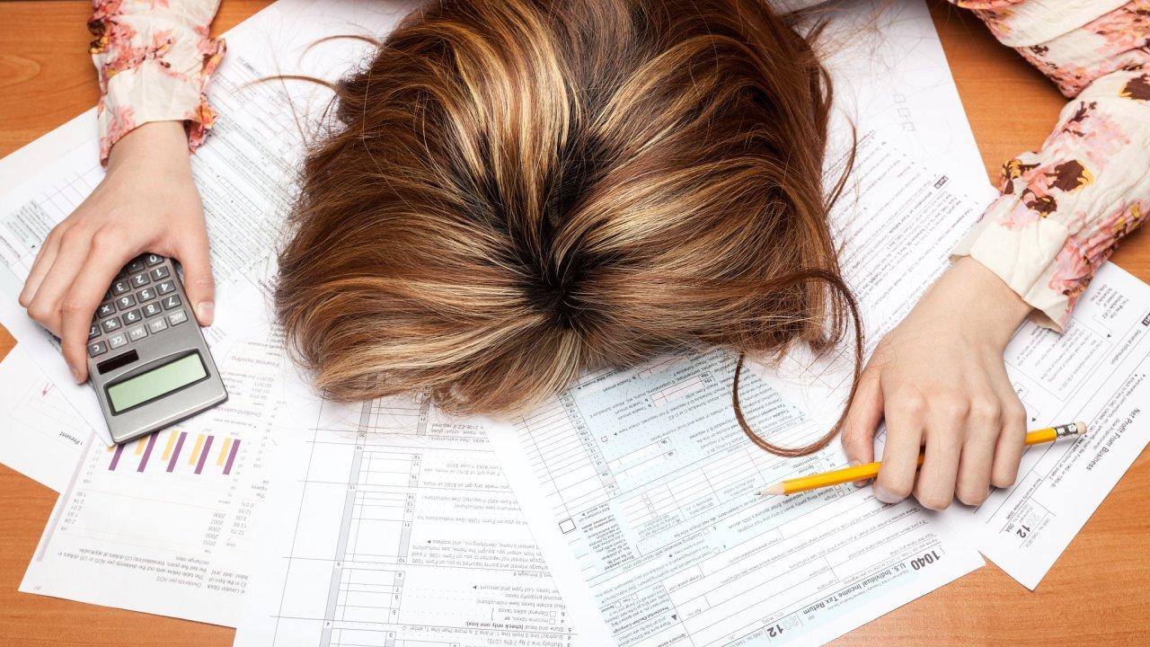 daně, frustrace, úřad,