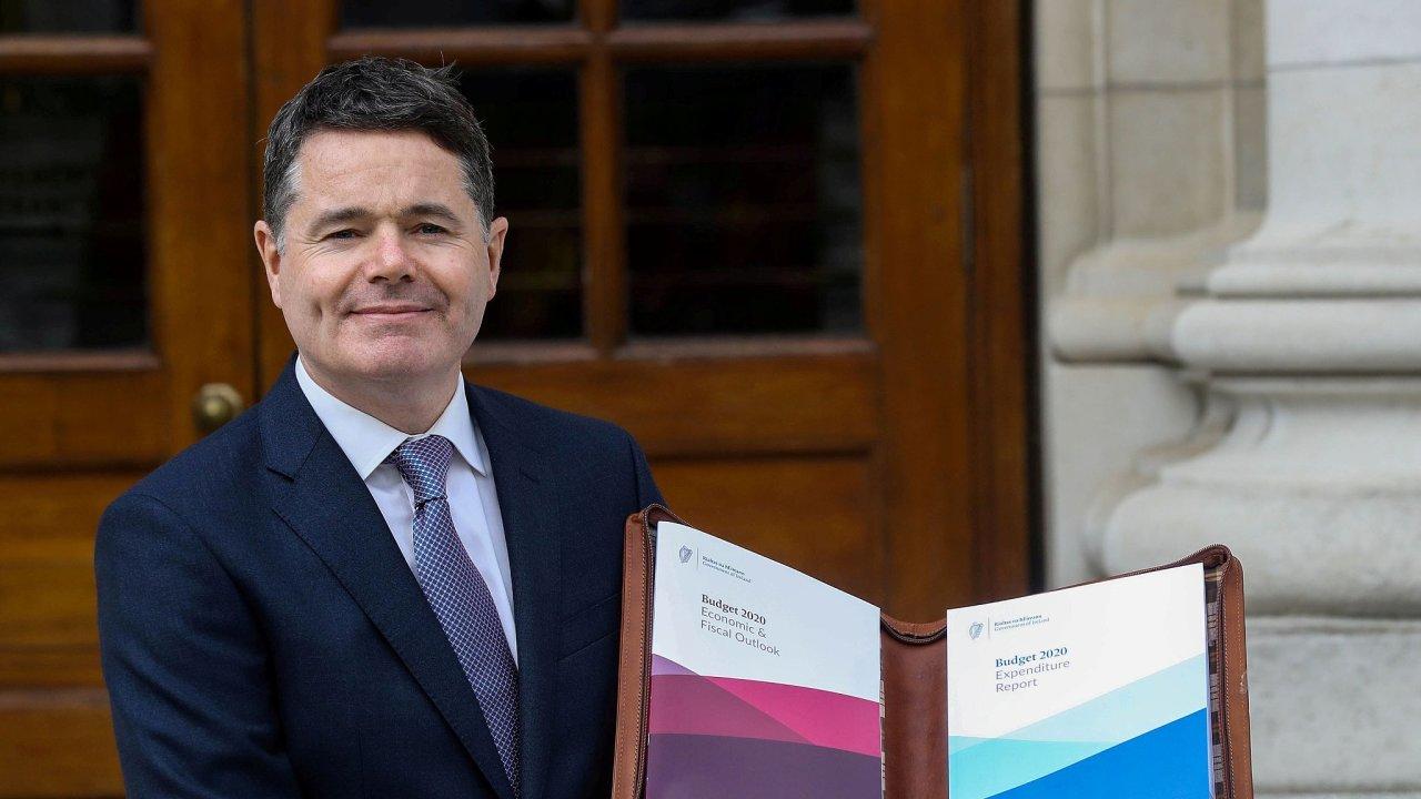 Irský ministr financí Paschal Donohoe je novým předsedou euroskupiny.