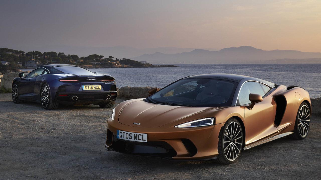 Gran Turismo: Jedním zaktuálně nabízených modelů britské automobilky je McLaren GT.
