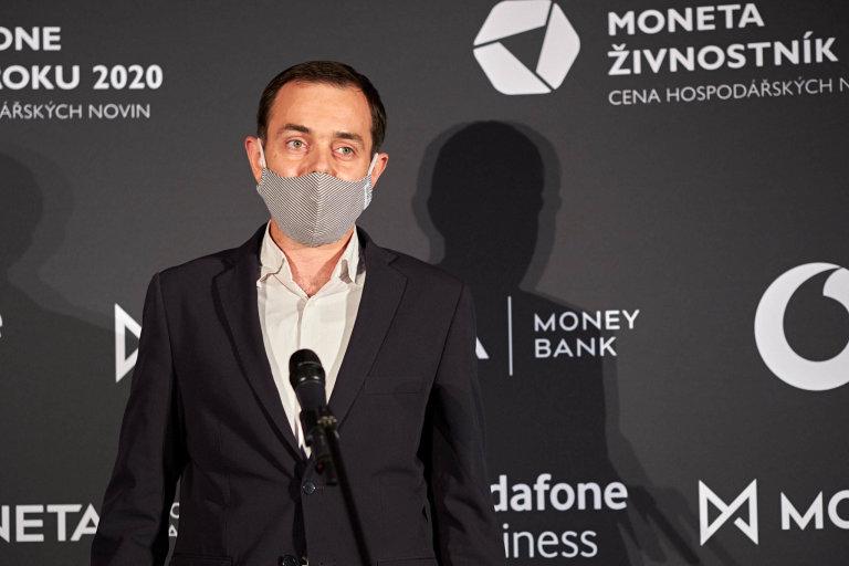 Michal Krejčí, Director of Strategy and Innovation společnosti LabMediaServis, Vodafone Firma roku 2020 Královéhradeckého kraje