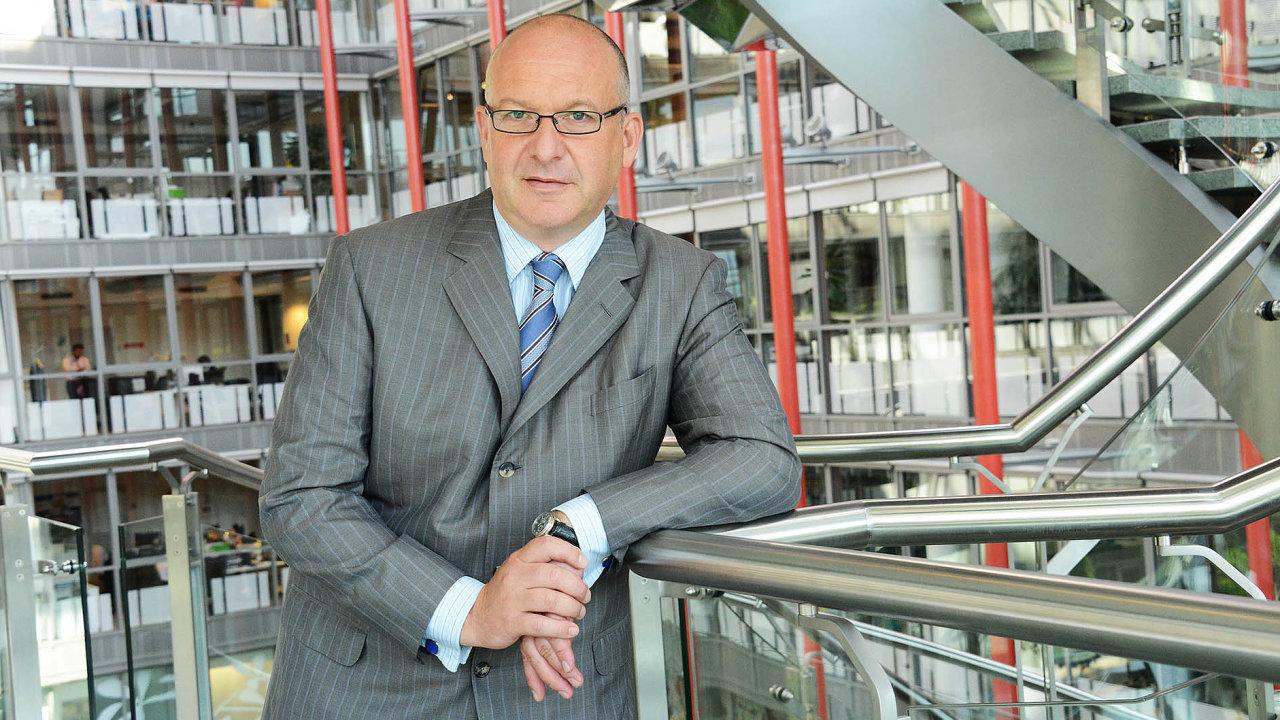 Prezident poradenské společnosti Deloitte ČR Josef Kotrba