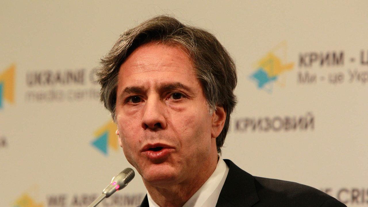 Partner krovnému jednání: Diplomat Tony Blinken pracoval vtýmu prezidenta Baracka Obamy azamlada žil vEvropě.