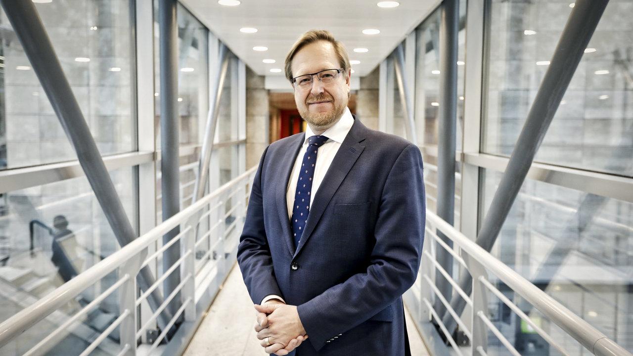 Jakub Dvořáček, výkonný ředitel Asociace inovativního farmaceutického průmyslu