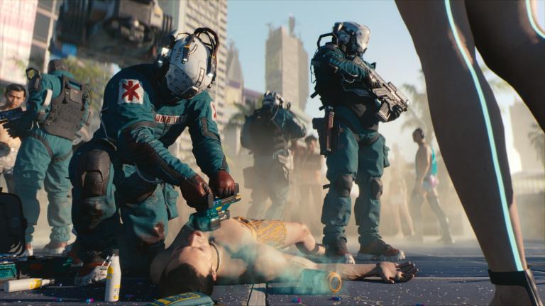 Cyberpunk 2077 na reklamních obrázcích vypadá jinak než jak ho uvidí většina hráčů