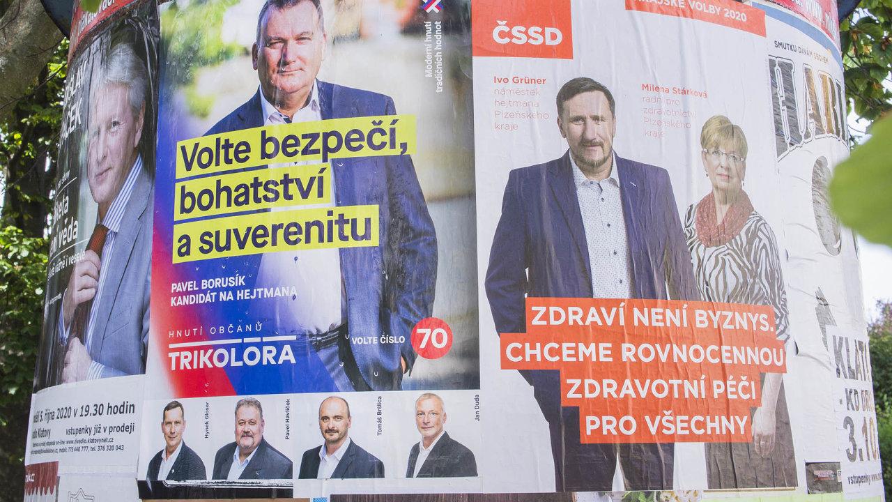Krajský, nebo státní lídr? Pro strany svýraznými lídry je přijatelnější proměnit celé Česko vjeden volební obvod. Jde hlavně ohnutí ANO aTrikolóru. Jsou však vmenšině.
