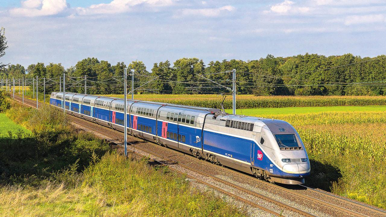 Vzorem pro plánované domácí rychlovlaky jsou zejména francouzské TGV. Ty jezdí odroku 1981.