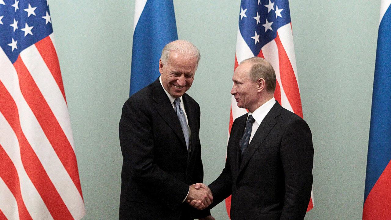 Vladimír Putin, Joe Biden, Moskva 2011