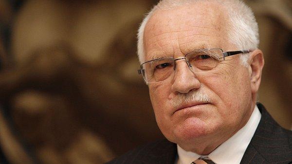 Prezident V�clav Klaus