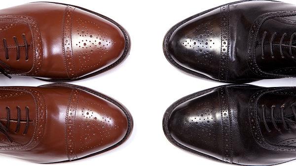 Pánská obuv- ilustrační foto