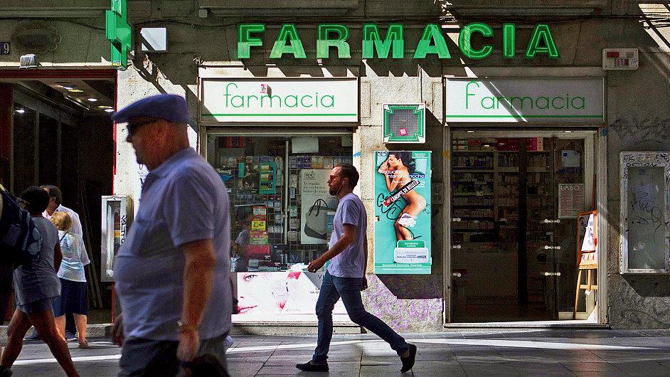 Ve Španělsku skončilo nejvíc lékáren v Katalánsku, Valencii a v Kastilii - La Manche.