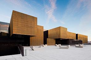 Místo starého trhu mají v Portugalsku budovu jako ze zlata, pod chodníkem leží kino