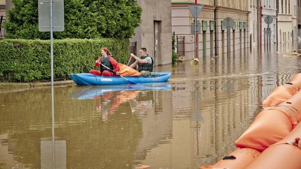 Povodně v Roudnici nad Labem
