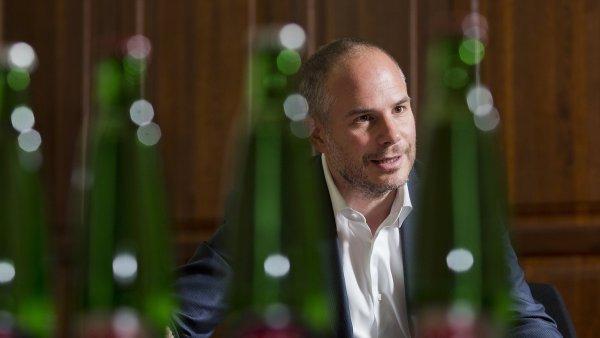 Majitel a ředitel Karlovarských minerálních vod Alessandro Pasquale.