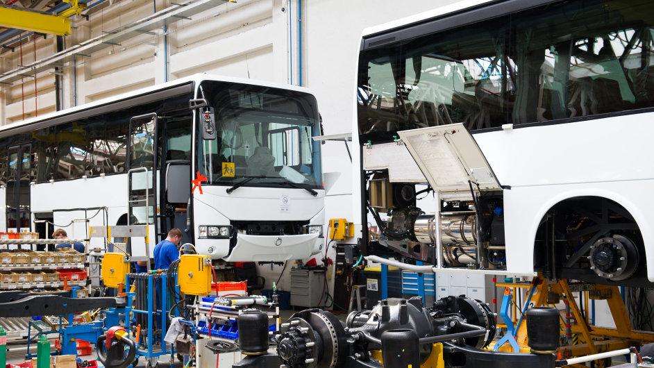 Autobusy Iveco z Vysokého Mýta