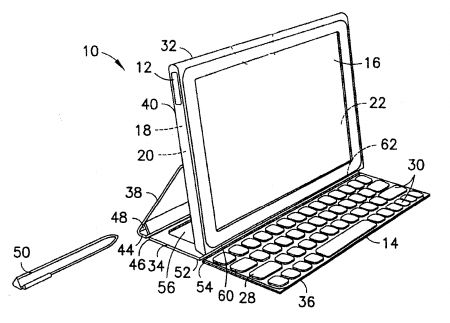 Nákres chystaného tabletu Nokia