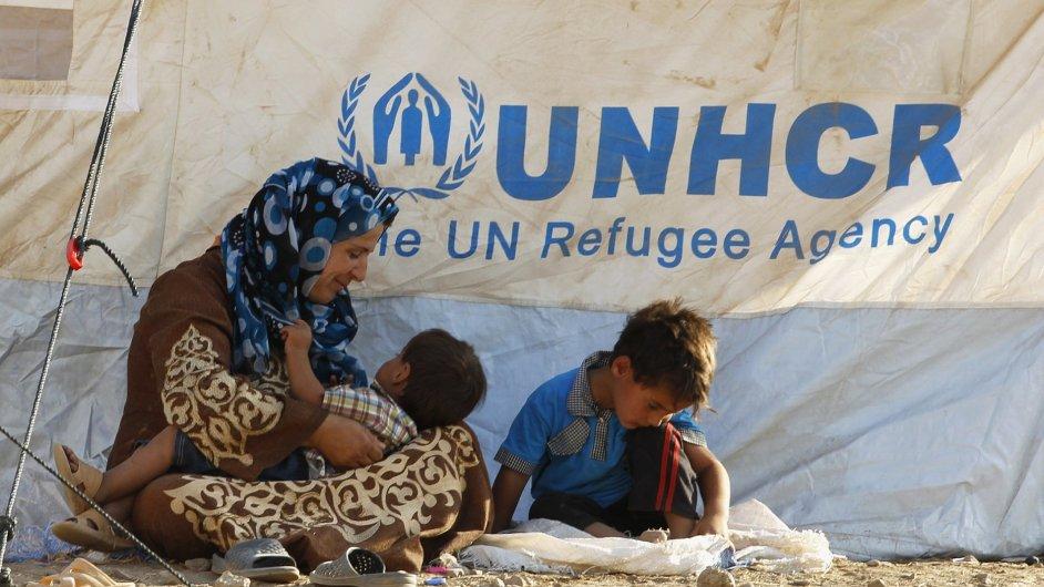 Syrští uprchlíci, ilustrační foto