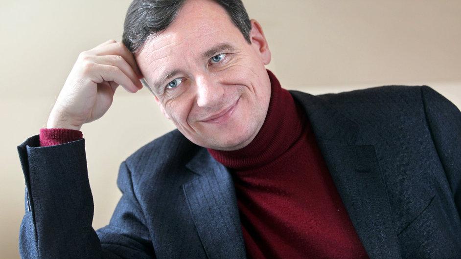 David Rath v Hostivici během rozhovoru pro IHNED.cz