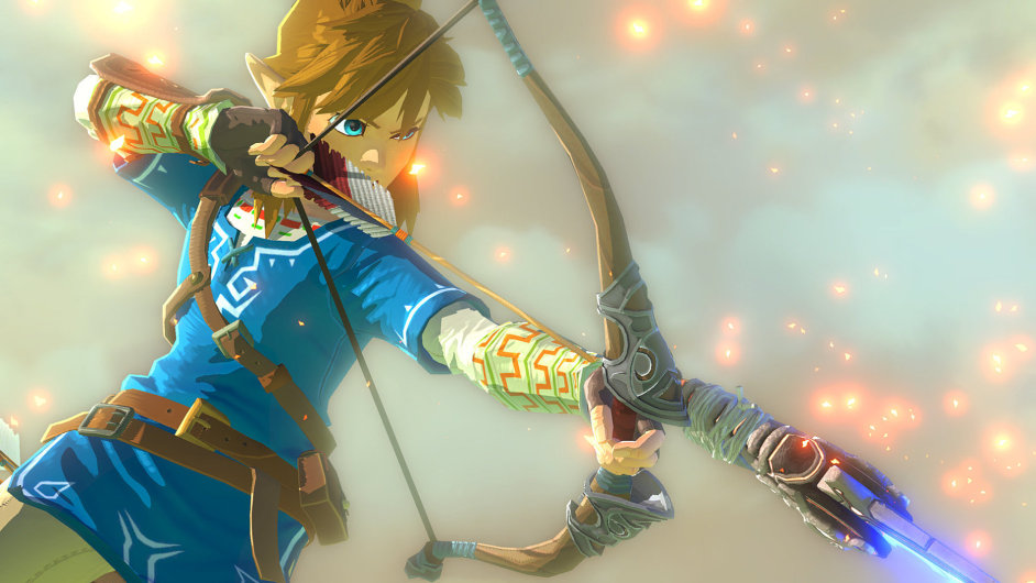 Link ze hry Legend Of Zelda Wii U