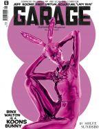 Obálka nového čísla časopisu o umění Garage.