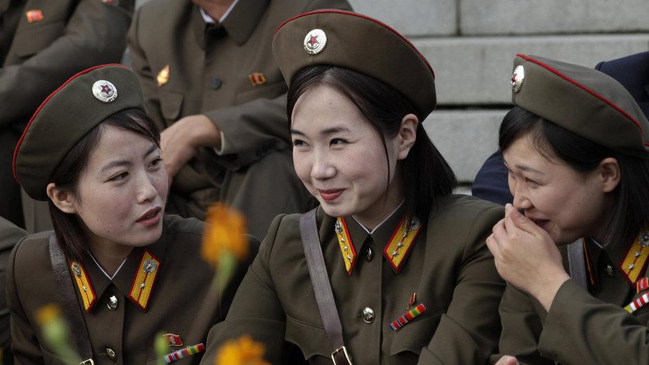 Severokorejské vojačky