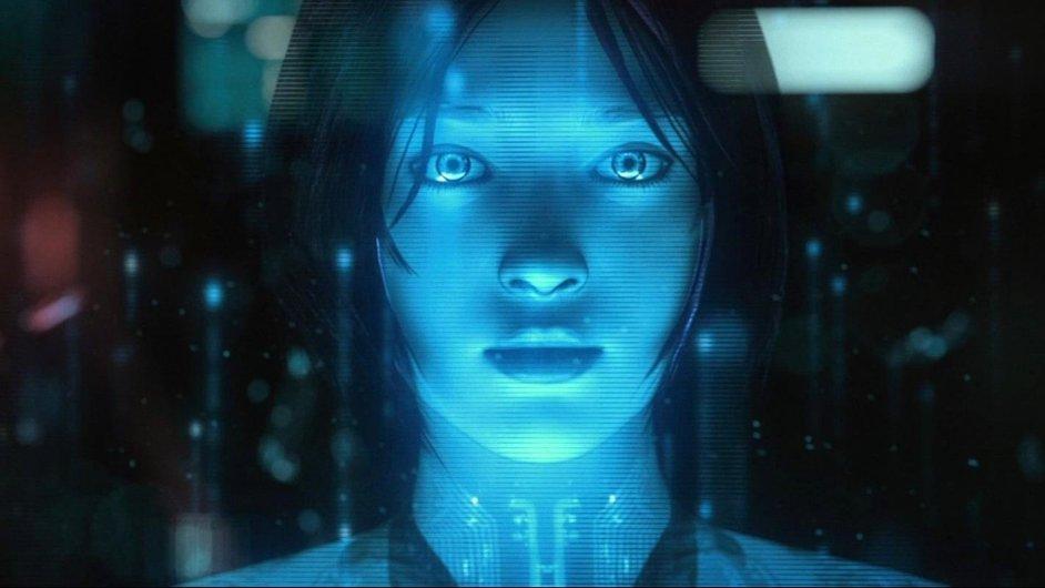 Cortana, umělá inteligence z herní série Halo