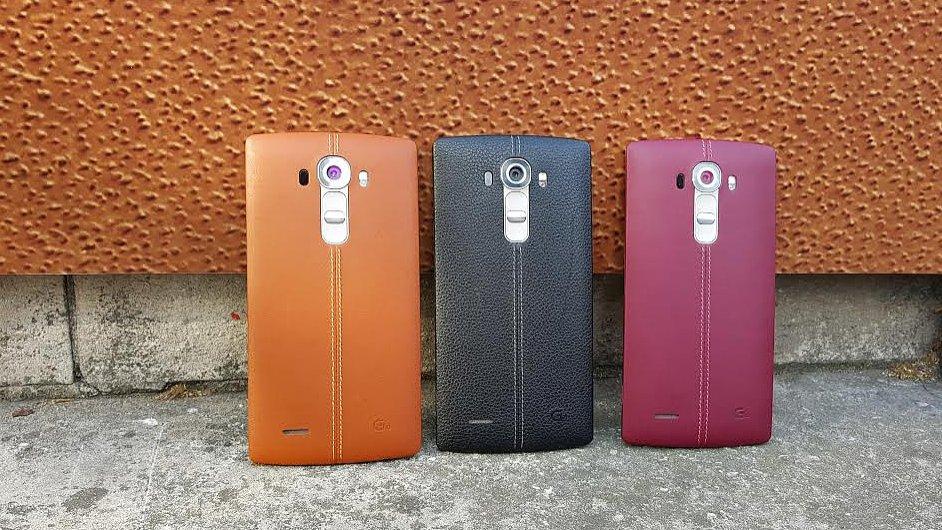 Nový telefon LG G4.