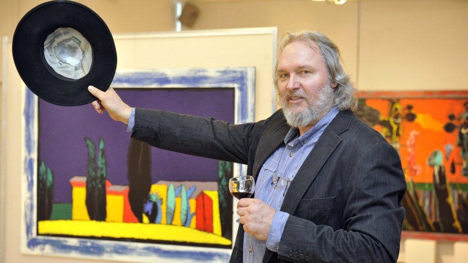 Snímky z výstavy Borise Jirků